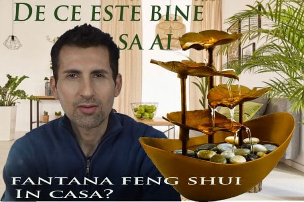 Fantana feng shui pentru interior