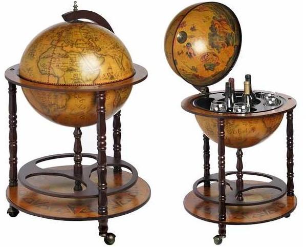 Minibar antichizat glob pamantesc