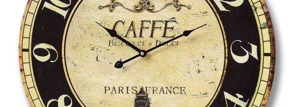 Ceas de perete Caffe