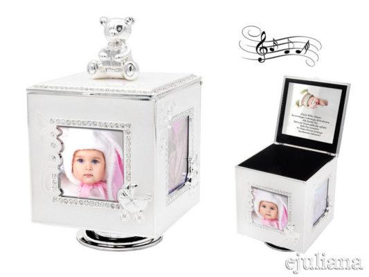 cutiuta muzicala argintata Juliana