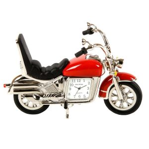Ceas motocicleta miniatura
