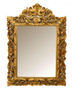 Oglinda cu rama antichizata