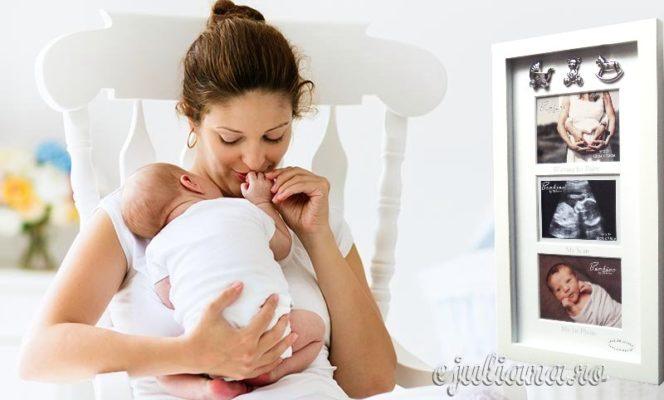 rama foto pentru ecografia bebelusului