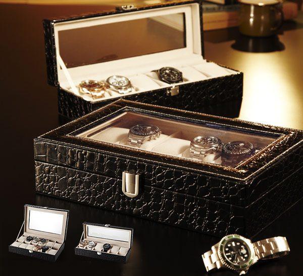 Casete pentru ceasuri, Casete pentru ceasuri de mana
