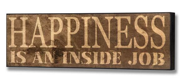 fericirea vine din interior, Cum creezi sentimente de fericire