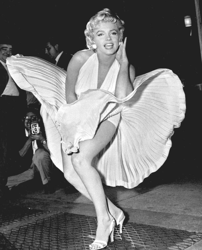 Paravan cu Marilyn Monroe