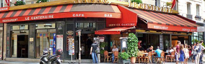 Paravan decorativ despartitor cu cafenea
