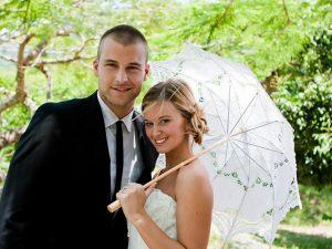 umbrela de nunta, umbrela dantela