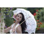 Umbrela pentru mireasa