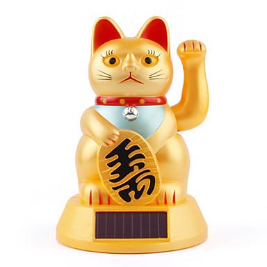 pisica-Maneki-Neko-solara