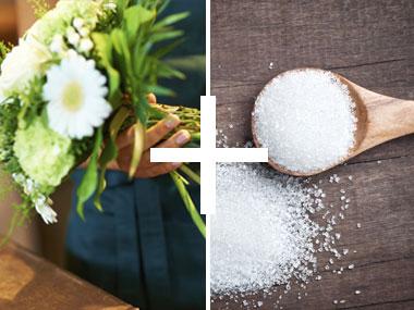 Flori proaspete in vaza
