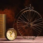 Ceas bicicleta pentru birou