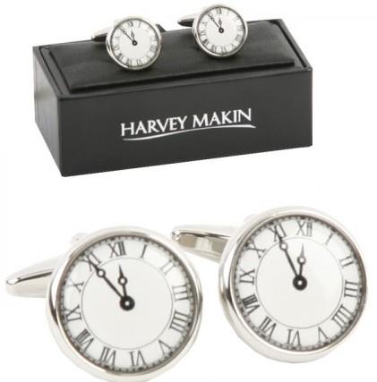 Butoni de camasa personalizati, butoni de cama ceas