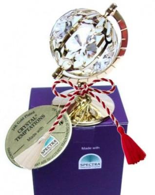 Glob cu cristale Swarovski cadouri de Martisor