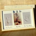 Cadou botez amprenta pentru bebelusi