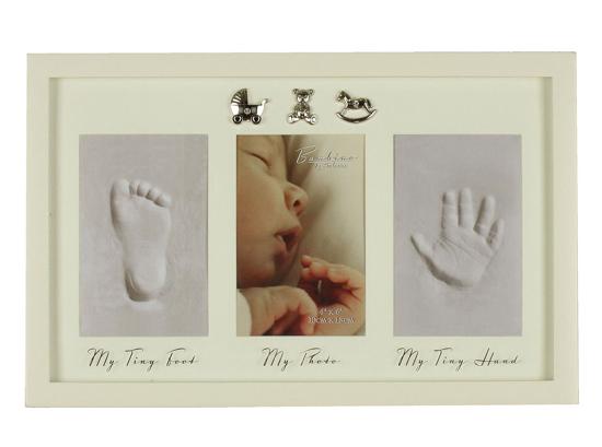 Rama foto cu amprenta bebelusului