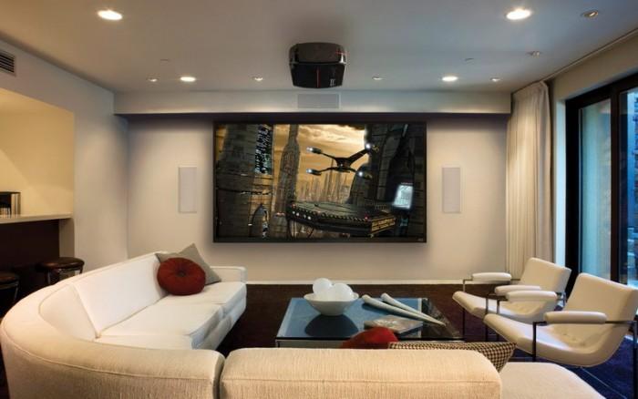 Decor living room home cinema