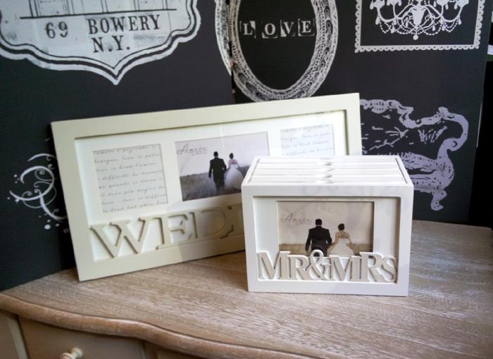 Rame si albume, cadouri de nunta pentru miri