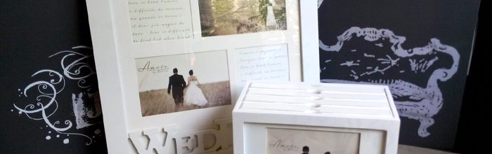 Rama foto album foto, cadouri pentru miri