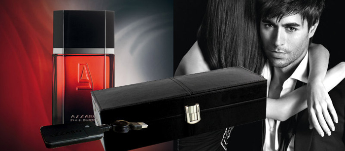 Parfum-Azzaro Elixir si cutie de ceasuri