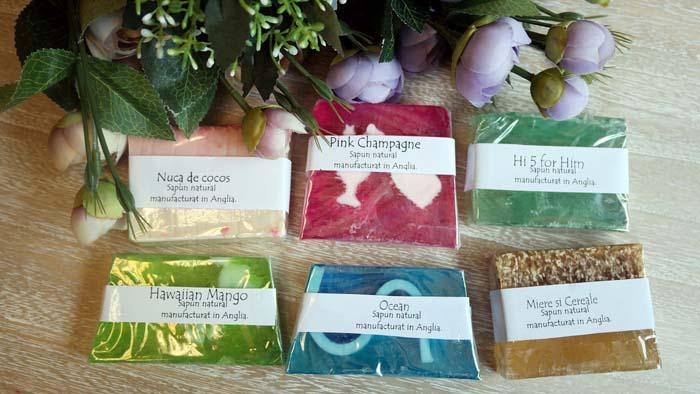 Colectie de sapunuri naturale