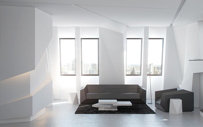 Futurismul in design interior