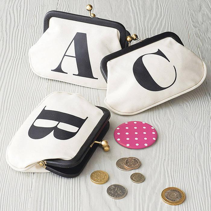 Portmoneu pentru card, chei si monezi A B C
