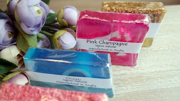 Sapun natural Pink Champagne