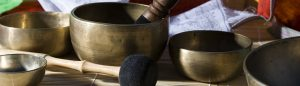 bol tibetan de bronz batut manual