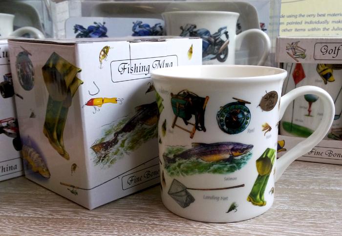 Cana de cafea pentru pescari