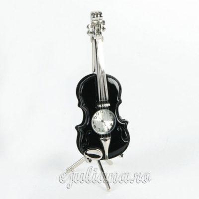 vioara ceas de birou miniatura