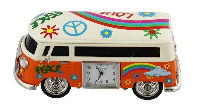 ceas de birou minivan miniatura