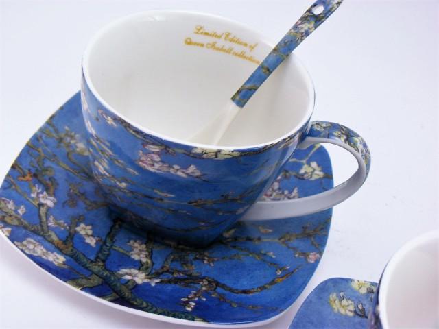 Cesti de cafea din portelan din colectia Vincent Van Gogh