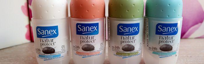 Deodorante naturale Sanex.