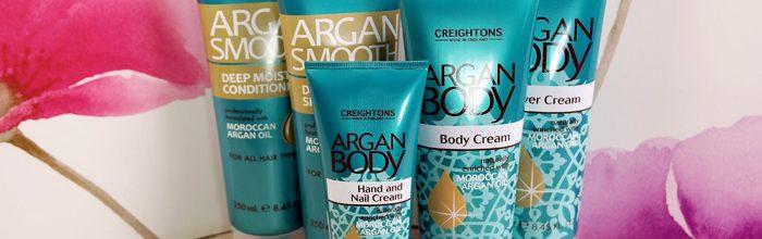 Intreaga gama de produse Creightons cu ulei de argan, look fabulos de revelion.