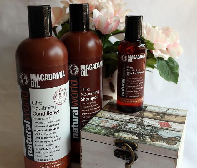 Natural World cu ulei de Macadamia.