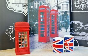 Cani de cafea Colectia British pentru pasionatii simbolurilor Angliei.