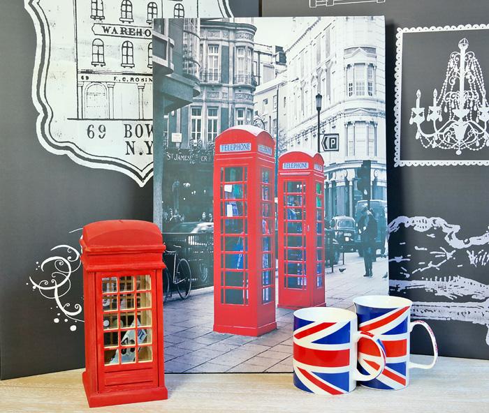 Colectia British pentru pasionatii simbolurilor Angliei.