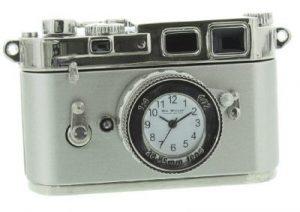 ceas miniatura camera foto-cadouri pentru pasionatii de fotografie
