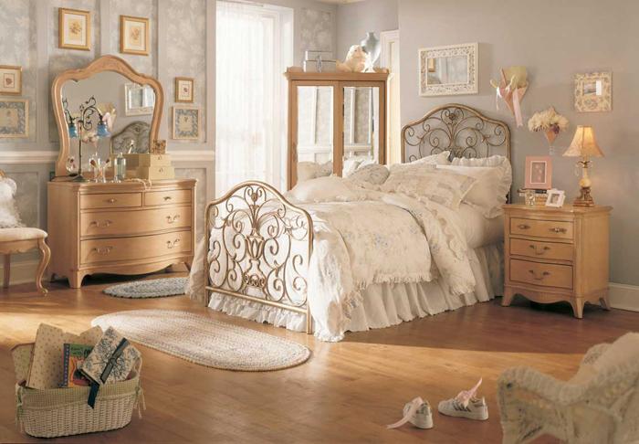 Dormitor vintage