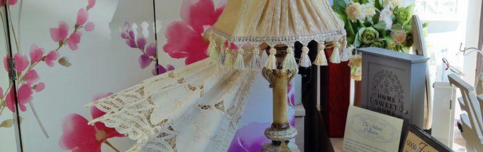 Umbrela de nunta si veioza vintage