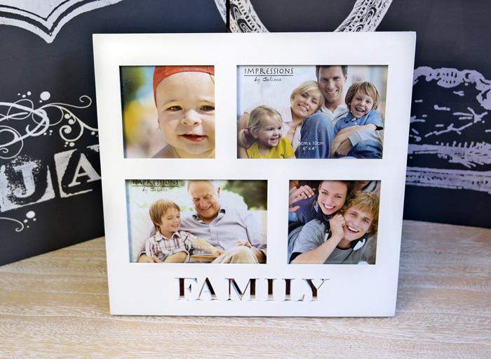 Rama foto de familie Family colaj de fotografii