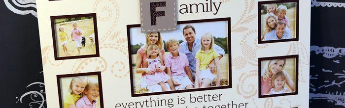 Rama foto Family colaj de fotografii