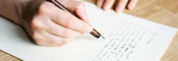 Cum scriem o felicitare?