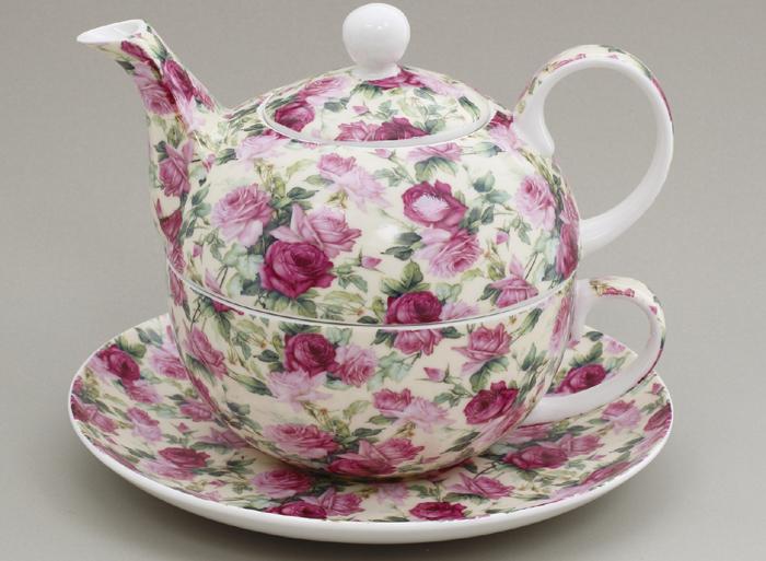 Set de ceai cu ceainic si ceasca