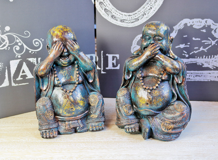 Statuete Budha decor pentru birou.
