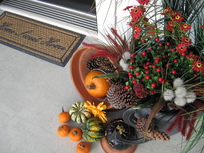 Decoratiuni de Halloween cu dovleci pentru casa