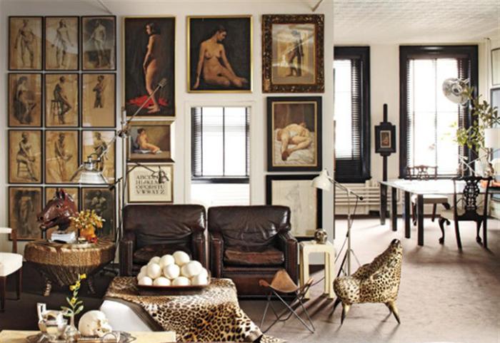 Idei de decoratiuni pentru living clasic