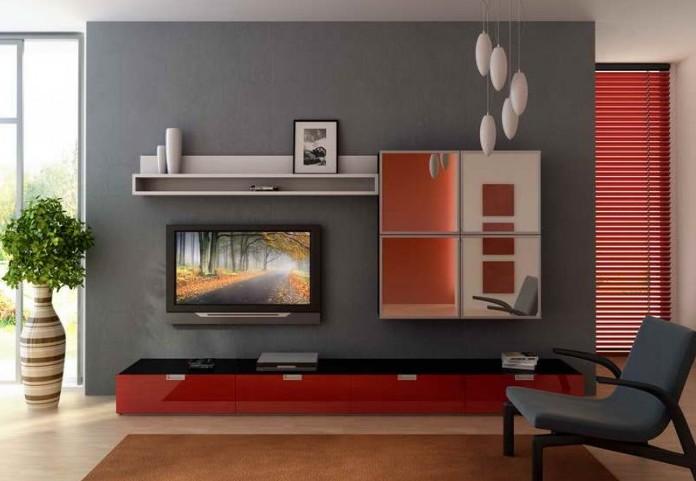 Idei de decoratiuni pentru living televizor