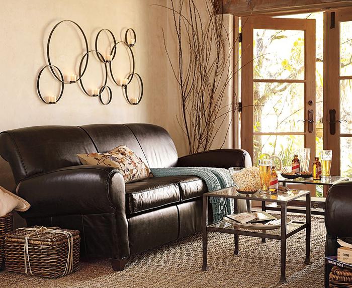 Idei de decoratiuni pentru living sofa